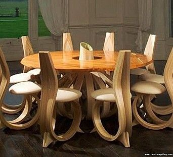 Very Unique And Creative Dining Table Design Posted By Www Gomadideas Com Gomad Furniture Design Wooden Dining Table Wooden Dining Tables