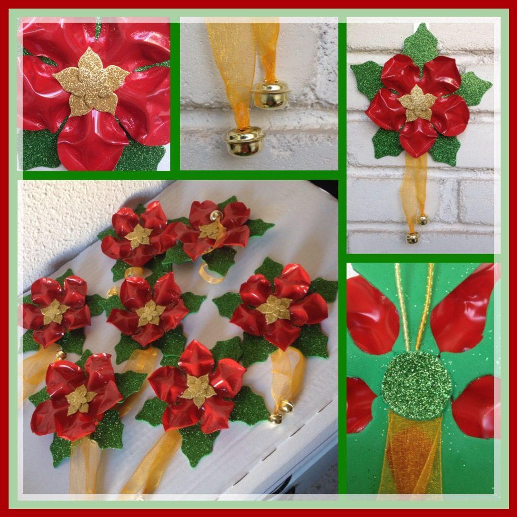 Flores de noche buena para tu hogar en fiestas de navidad - Flores de plastico ...