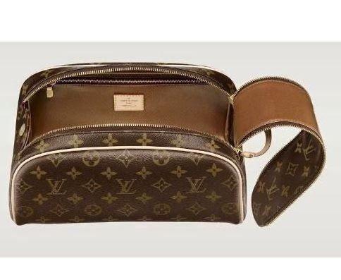 6a34285df Necessaire Louis Vuitton Damier Ebene - Canvas/couro | Accessories ...