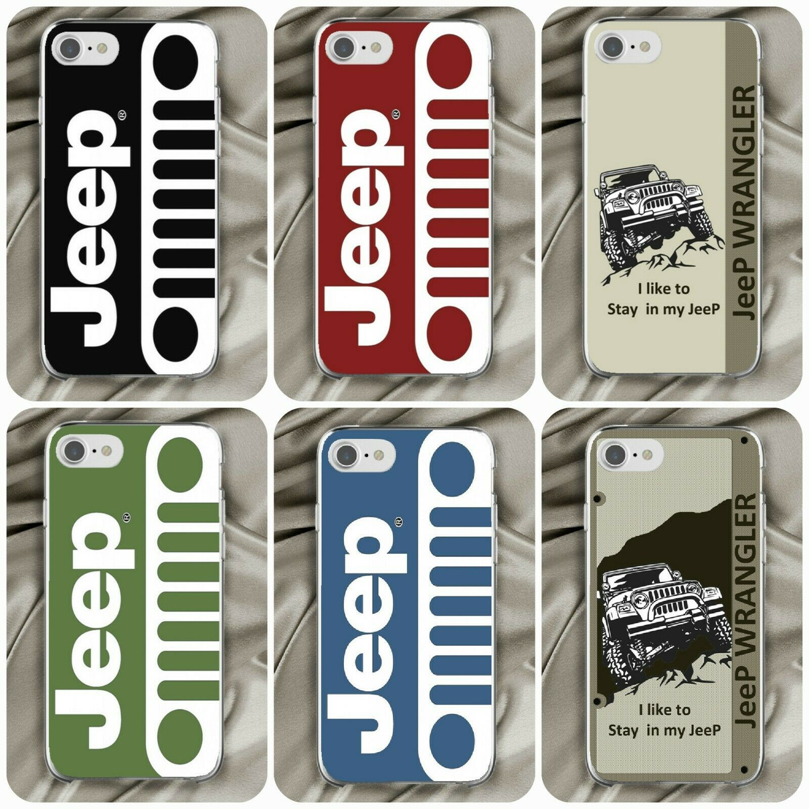 4x4 Jeep off road car logo case cover For Apple iPhone 6 7