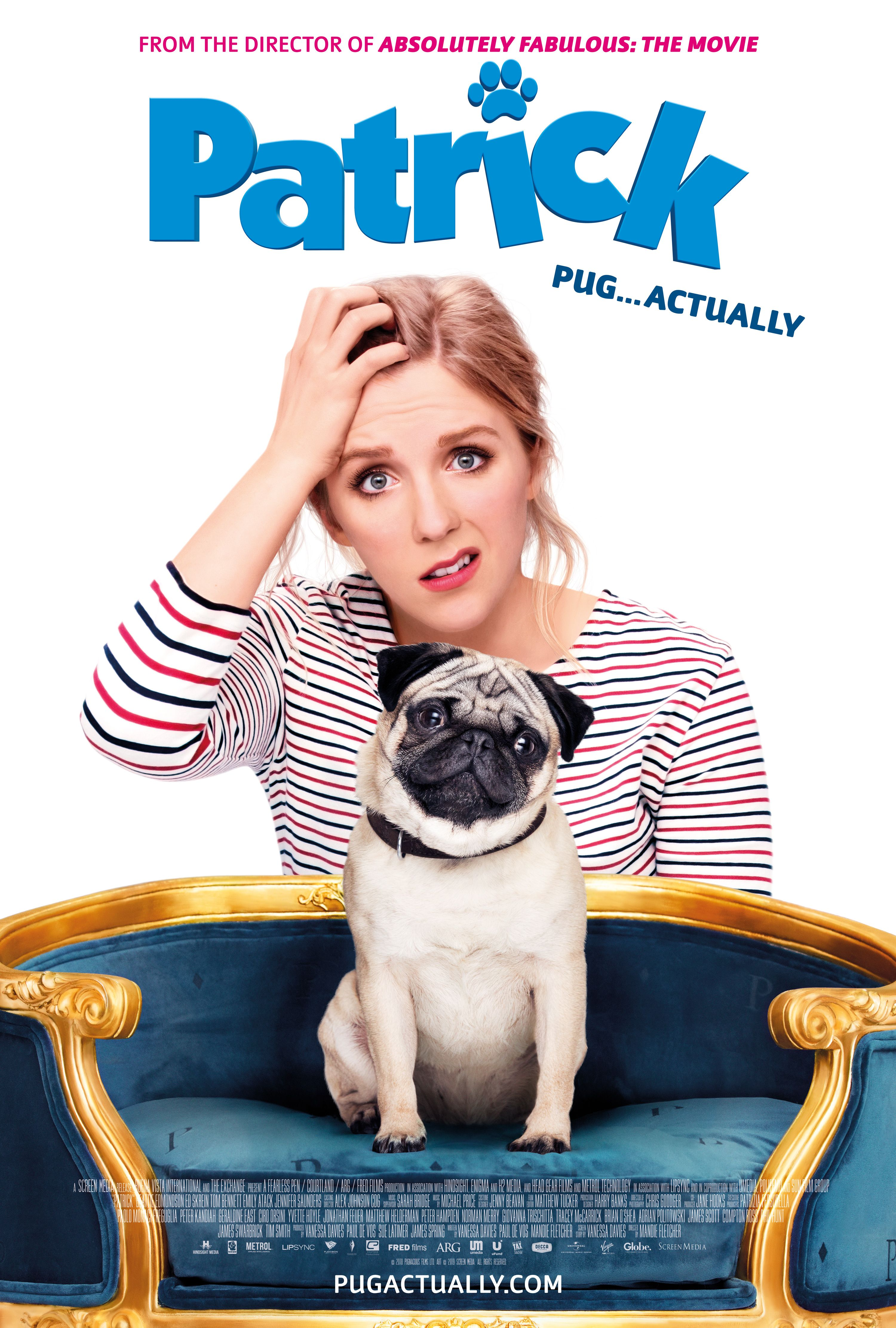 A Teacher S Life Gets Turned Upside Down When She Inherits Her Grandmother S Cute But Mischievous Pug Patrick Movie