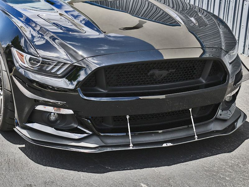 APR Mustang Front Bumper Canards 2015 2017 by BMC Extreme Customs