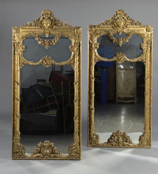 Miroir ancien en bois doré  estimation et expertise gratuite