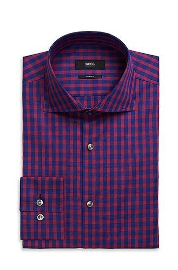 Hugo Boss Jaron Slim Fit Spread Collar Italian Cotton