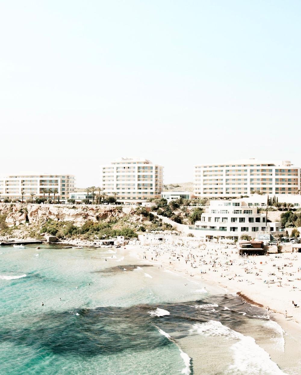 Golden Bay Beach Mellieha Malta By Keith Camilleri Malta