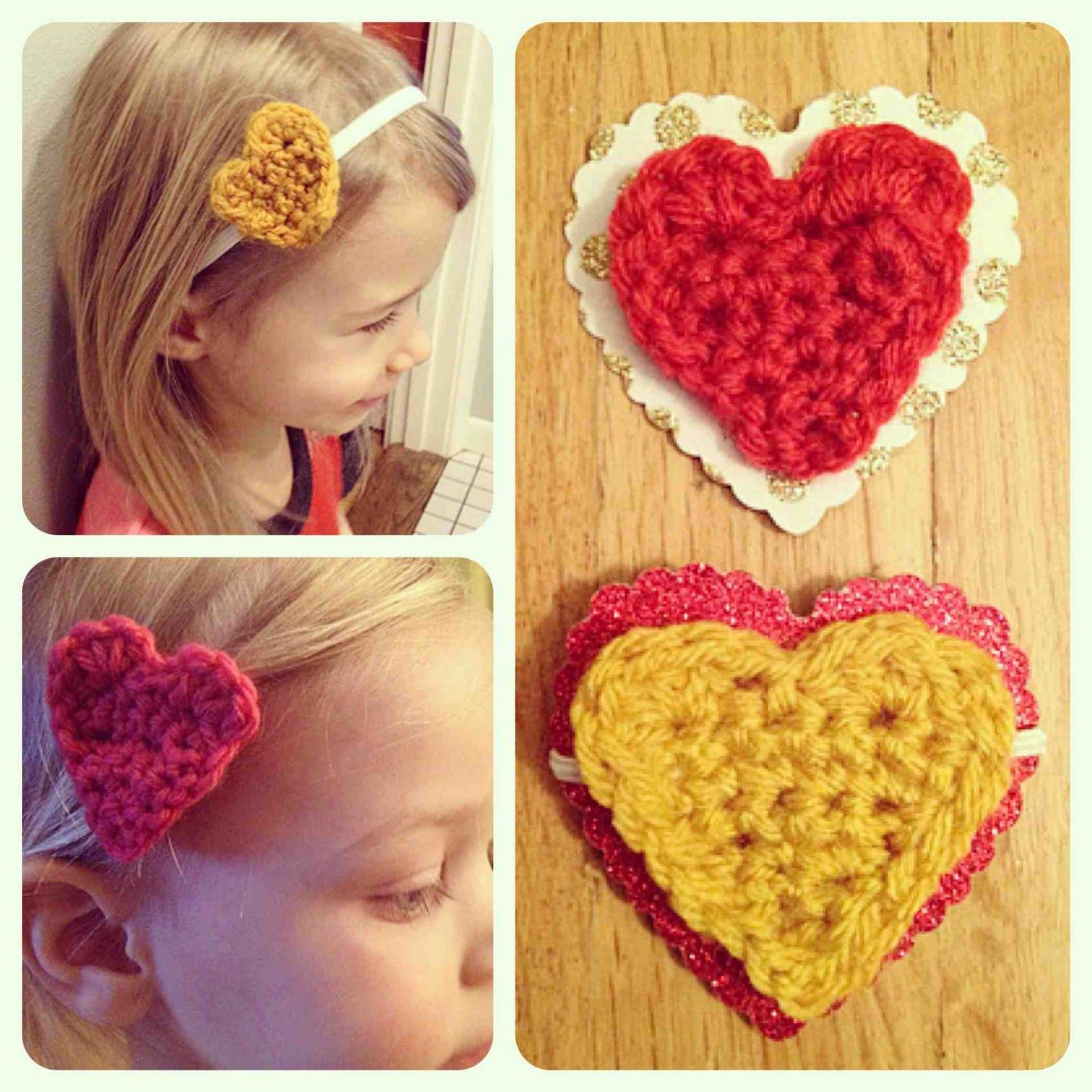 Todo sobre mi: Corazón a crochet - esquema