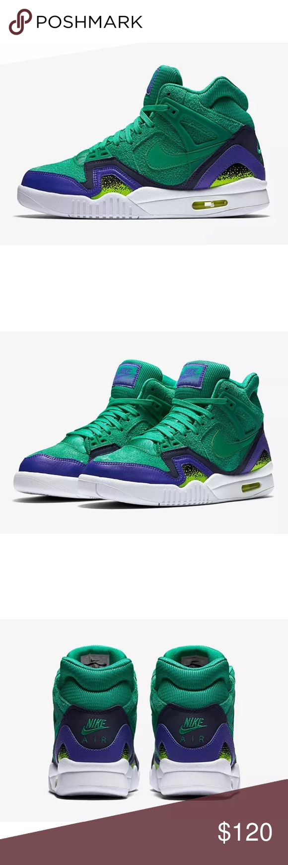promo code cc93b 786e0 Nike Women s Air Tech Challenge 2 SE Green Sz 10 Stadium Green Style   857879-301 Size 10 New without box THROWBACK FAVORITE The Nike Air Tech  Challenge II ...