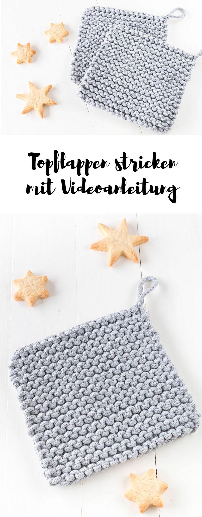 Photo of * 7 * Topflappen aus Kordel stricken | ars textura – DIY Blog