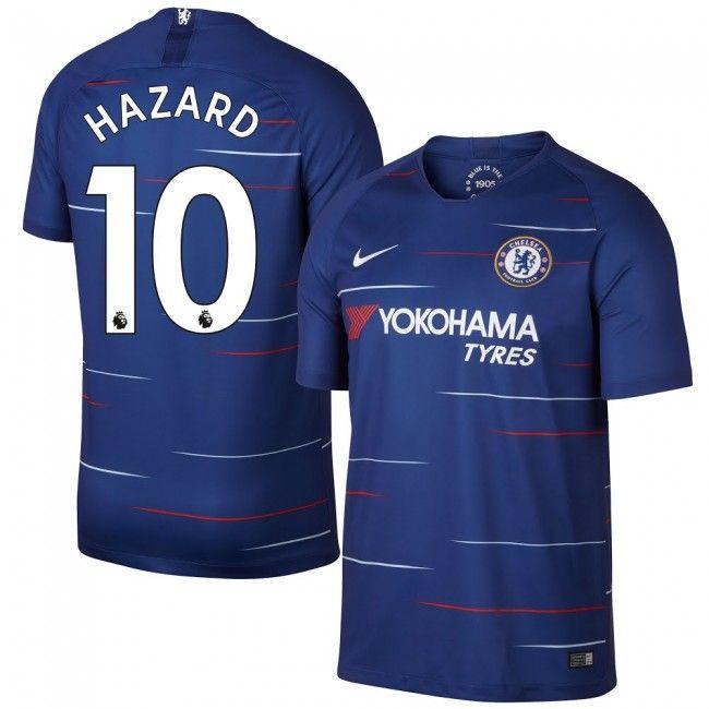 f932fc536a Chelsea 2018-2019 Hazard 10  Home  Local  Domicile  Heim  Chelsea ...