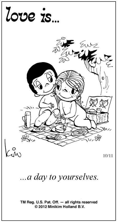 Love Is Comic Strip Kim Casali (October 11, 2012