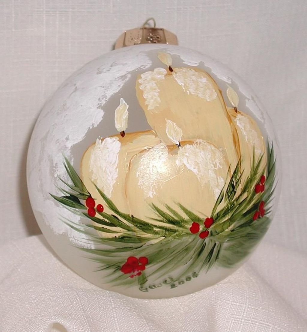 40 Pretty Christmas Clear Glass Ornament Ideas Painted Christmas Ornaments Clear Christmas Ornaments Clear Glass Ornaments