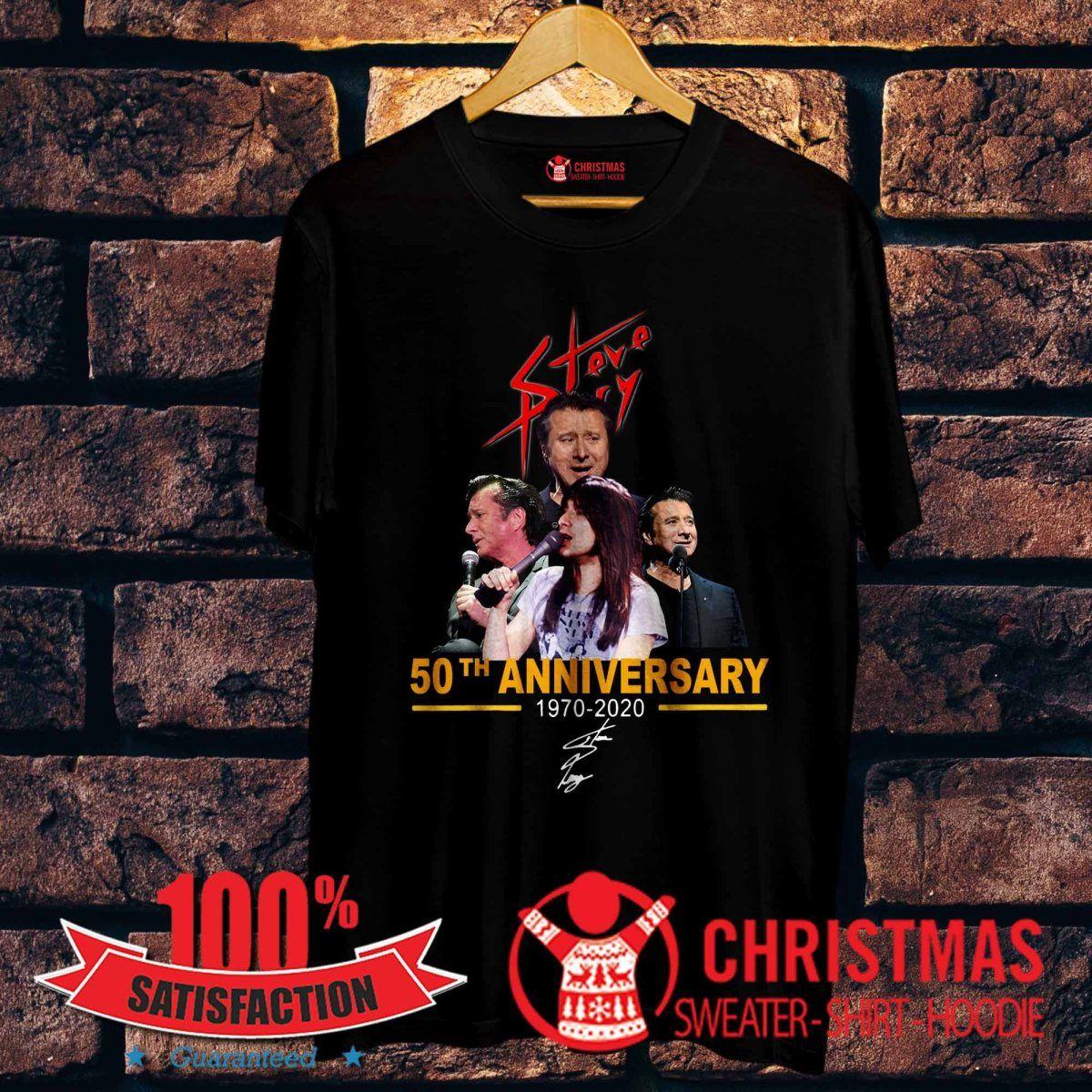 Steve Perry Christmas 2020 Steve Perry 50th anniversary 1970 2020 shirt | Steve perry, 50th