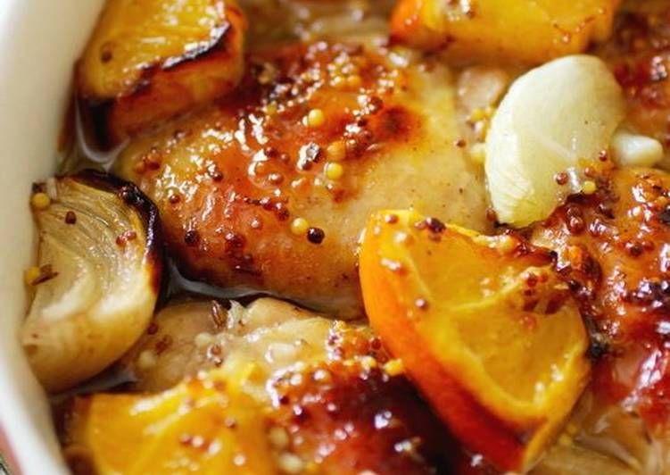 Говядина с апельсинами в духовке