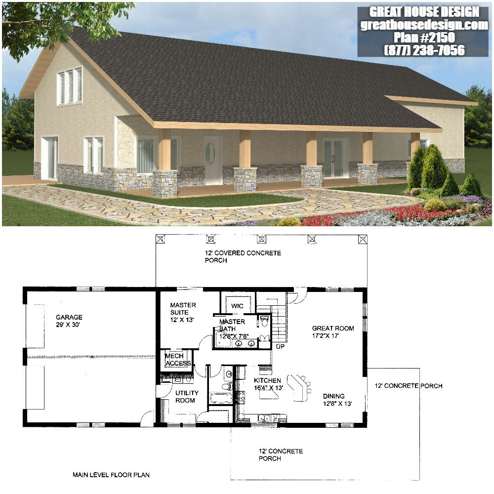 Home Plan 001 2150 Home Plan Great House Design House Design House Plans Bungalow House Plans