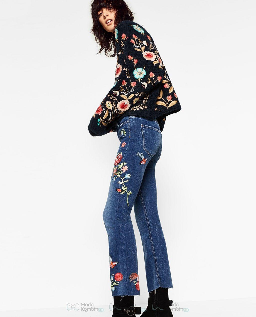 2017 Zara Bayan Jean Pantolon Modelleri Ve Fiyatlari 2017zarabayanjeanpantolonmodelleri 2017zarajeanpantolonmodasi Zara Moda Stilleri High Street Fashion
