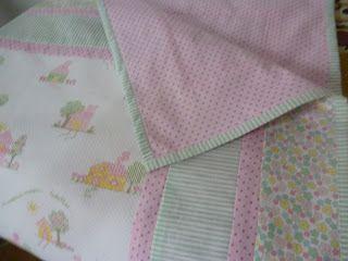 MARCIA BARRETTO patchwork: MANTA PARA BEBE