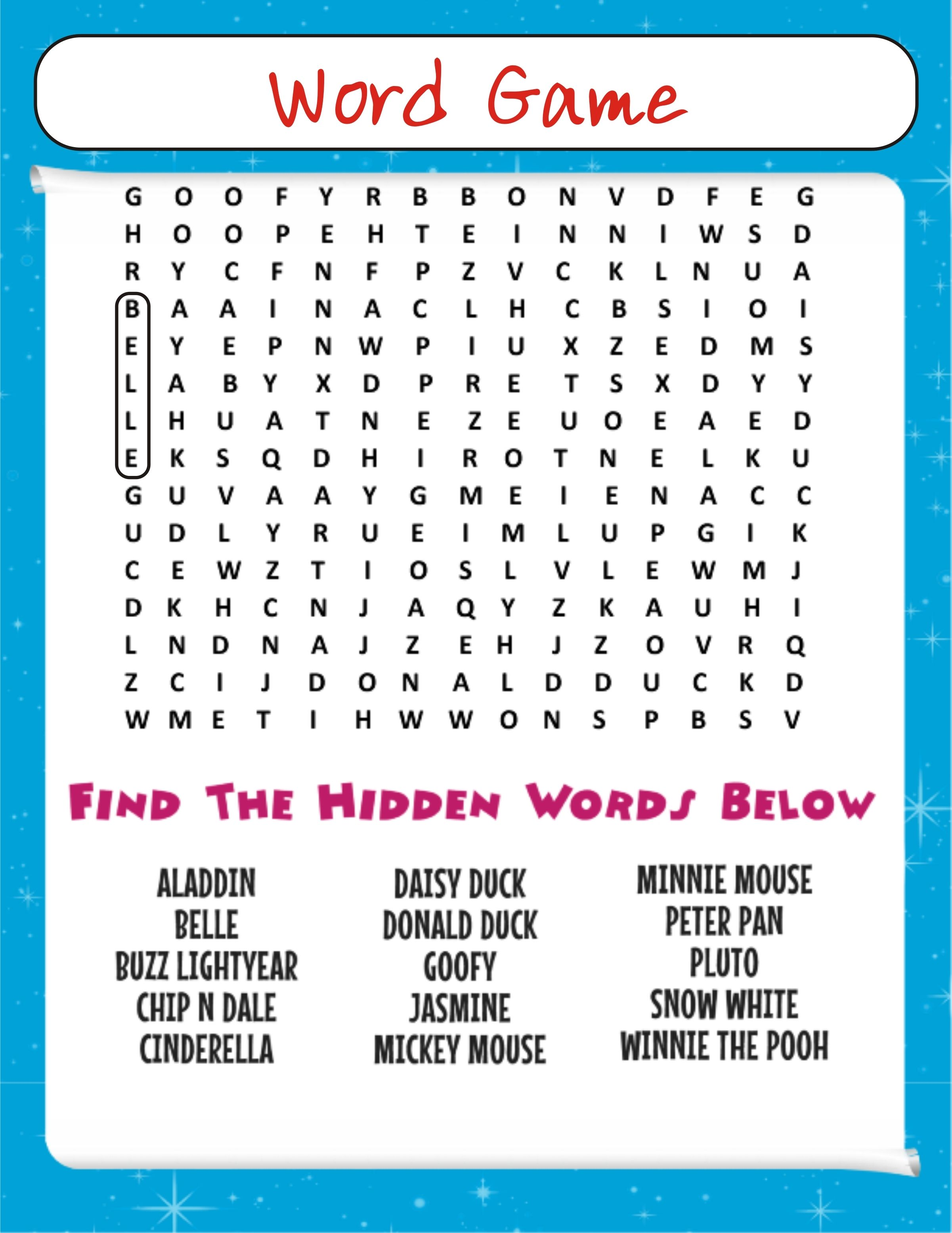 challenging word game for #kids of all ages to #practice #vocabulary skills.