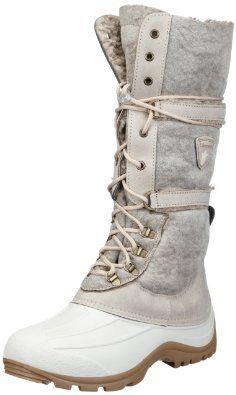 san bernardo 80aja snow boots womens gray   snow boots