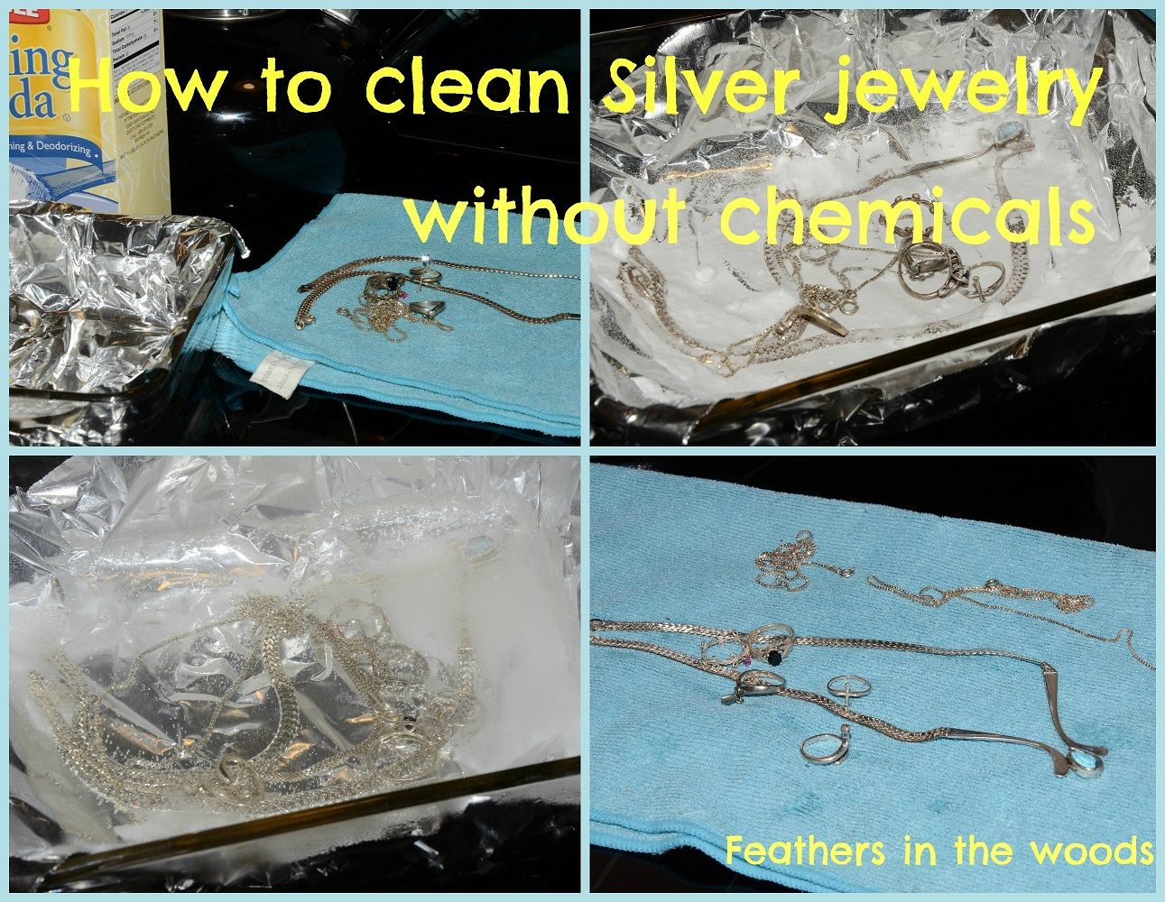 How to clean Silver without chemicals #Baking-Soda, #Cleaning, #Jewelry, #Silver #Solving-Problems