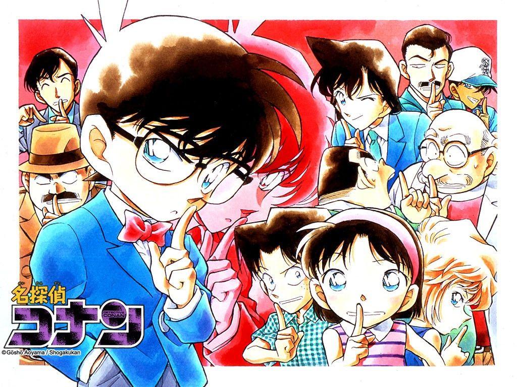 Resultado de imagem para Detective Conan mangá