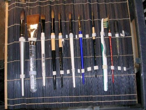 How do you store your brushes? - WetCanvas