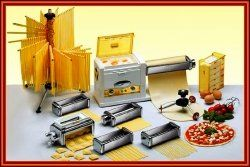One of the most needed and must have kitchen tool, is the best pasta maker kitchen aid or the most modern electric pasta machines from Imperia...