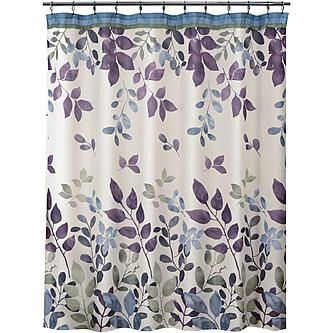 Caprice Black Shower Curtain W Sequins Popular Home Collections