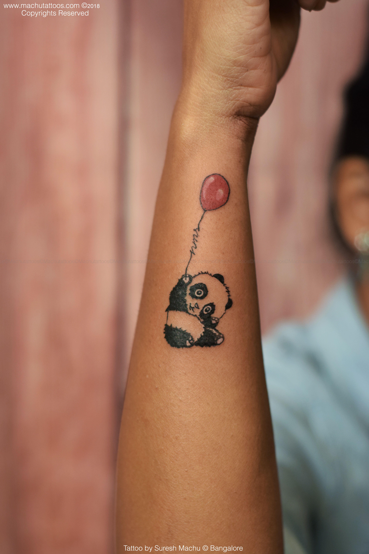 e60a714e306bb Done by Suresh machu from machu tattoo studio Bangalore India #art #tattoos  #panda #kungfu