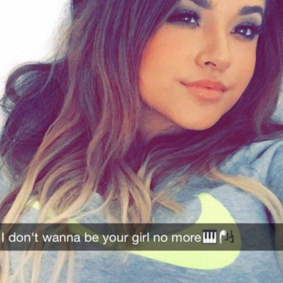 Becky G Snapchat Selfies - Google Search  Becky G -7189