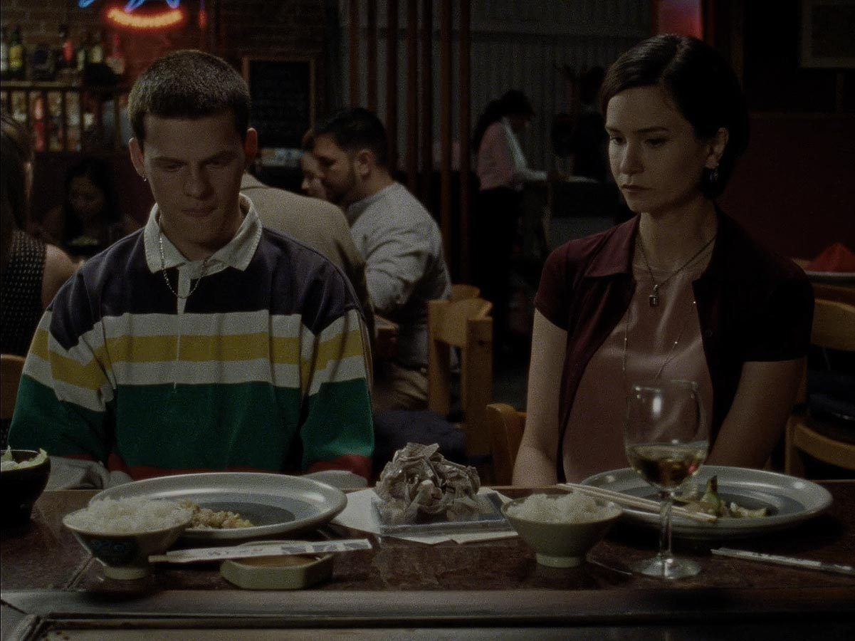 Lucas hedges katherine waterston in mid 90s source a24