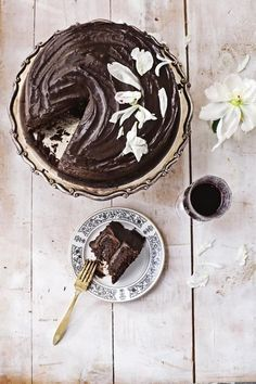 """This decadent, fudgy, and dense cake quickly became """"the favorite"""" out of all my vegan baking recipes."""
