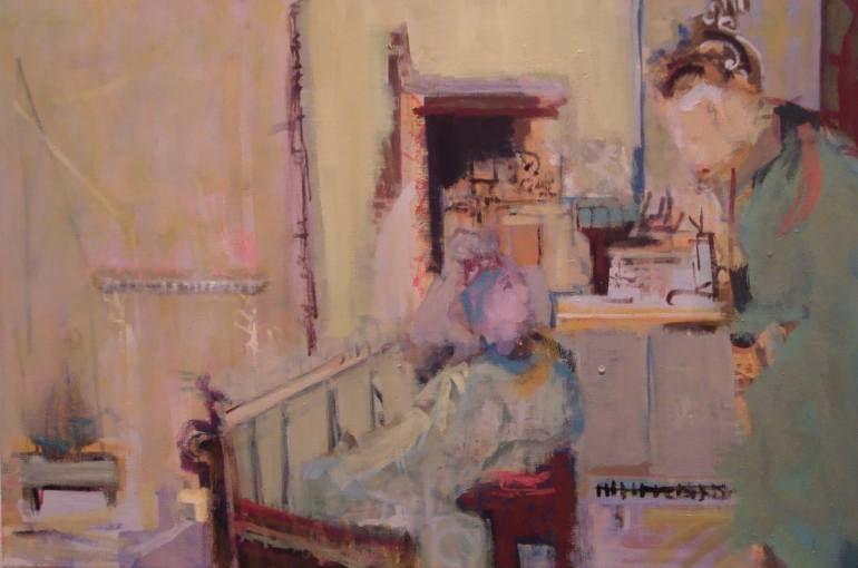 "Saatchi Art Artist Diane Green; Painting, ""yes  SOLD"" #art"