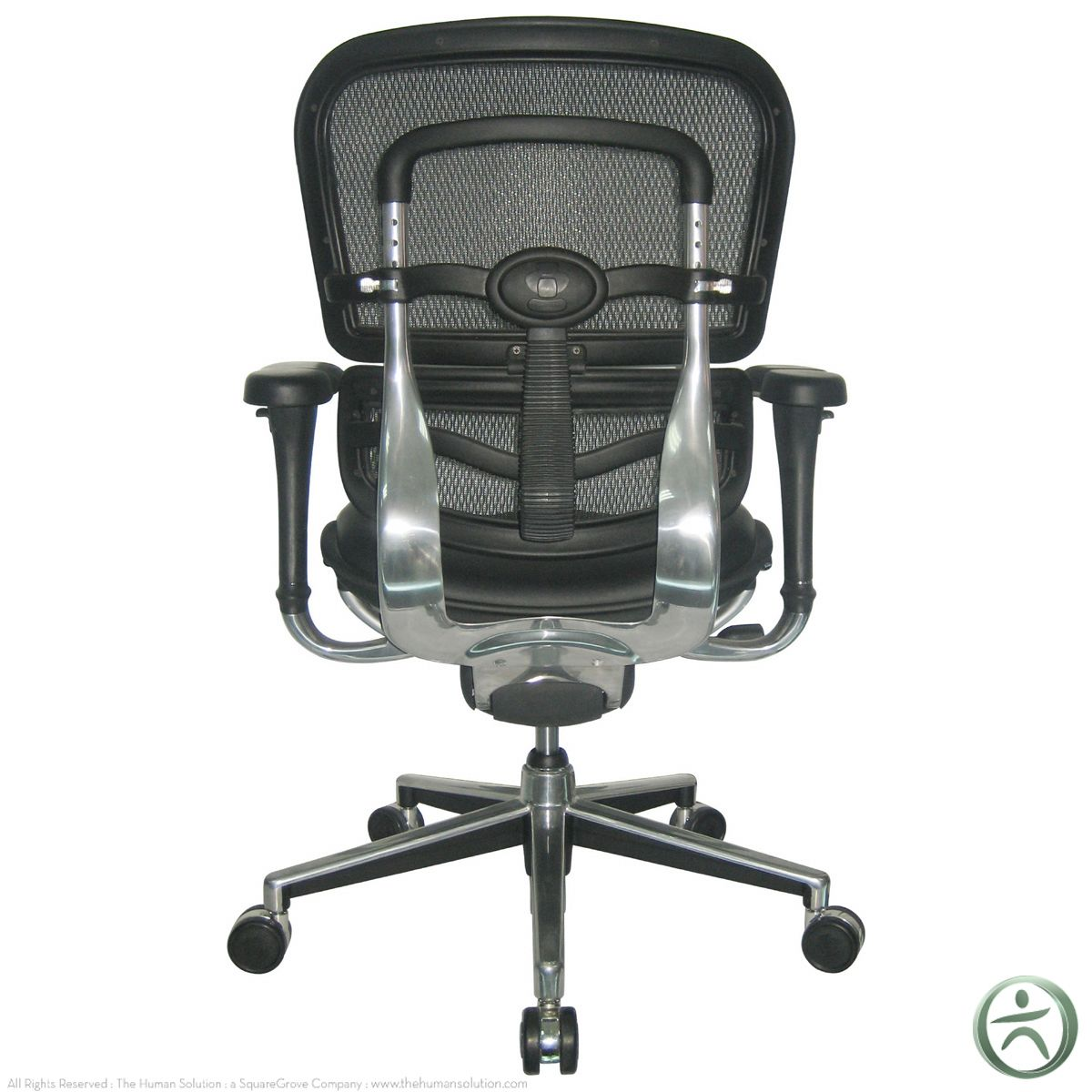 raynor ergohuman chair adams adirondack stacking mesh with leather seat lem6erglo