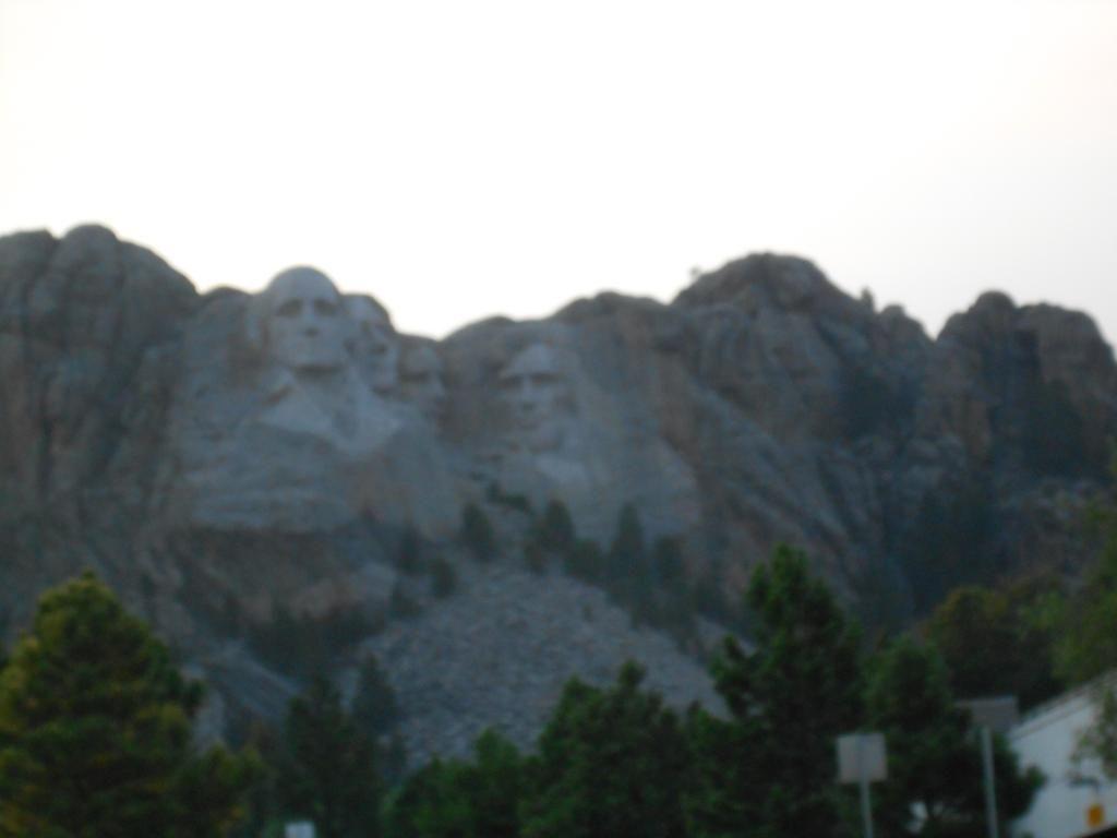 Mount Rushmore. Wasn't a huge fan but I loved the rest of South Dakokta
