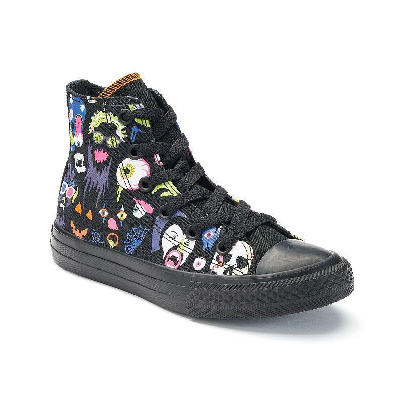 ac5268291168 Kid s Converse Chuck Taylor All Star Heebie Jeebie High-Top Sneakers ...