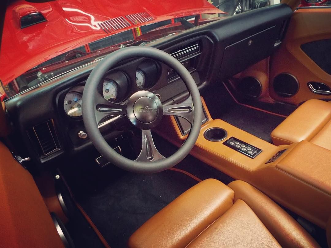 Custom Fesler Interior In The 1969 GTO. #fesler