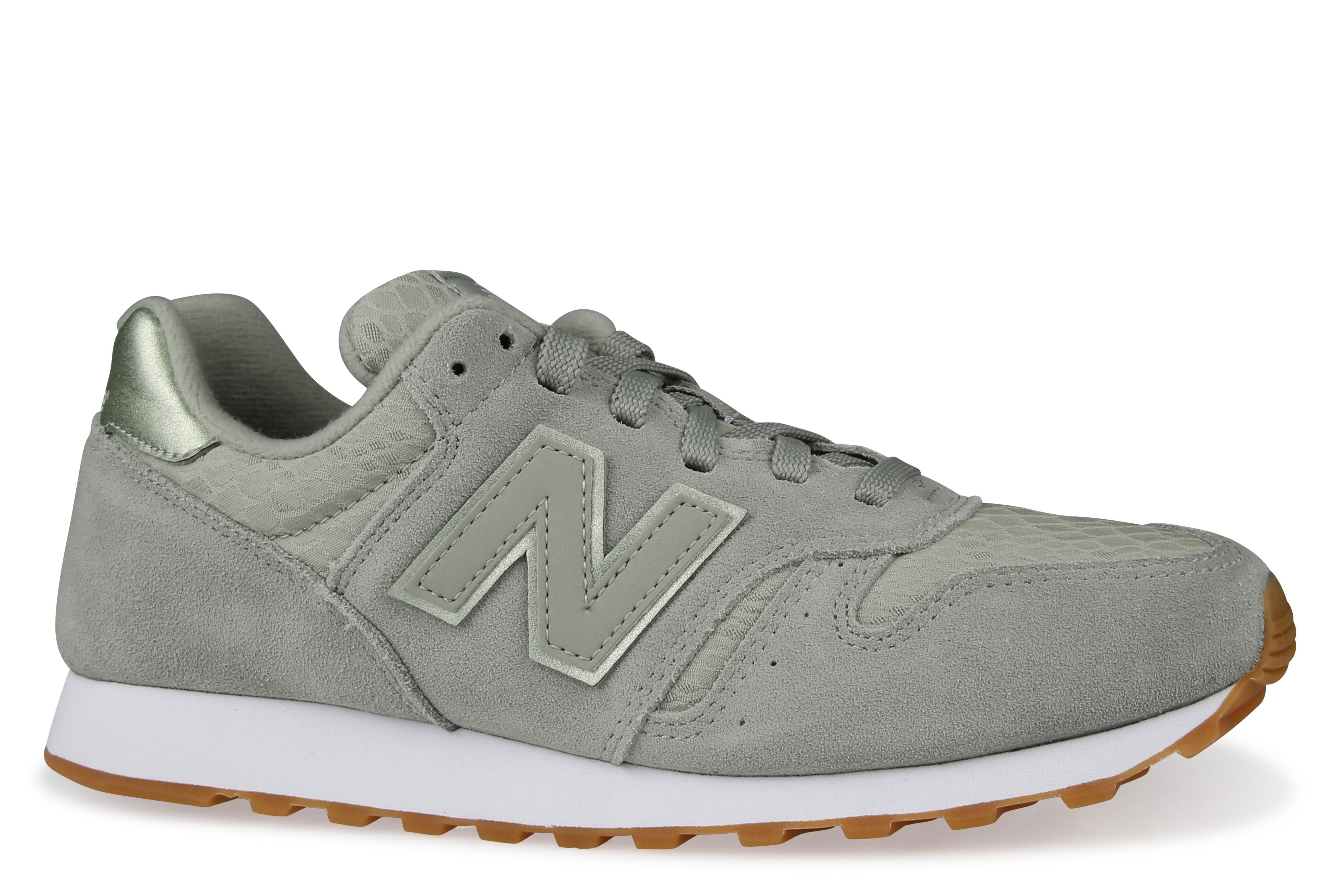 new balance 373 brown green