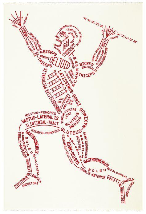 10+ Muscular Typogram   Print