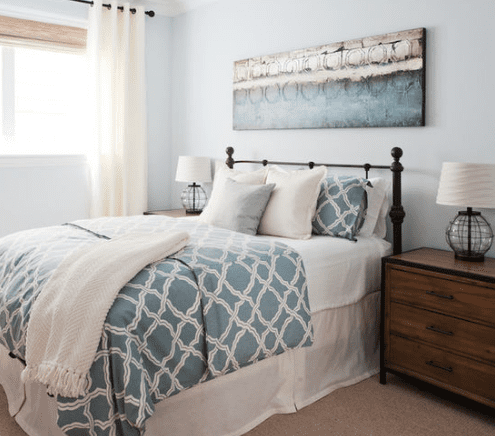 101 Beach Themed Bedroom Ideas #coastalbedrooms
