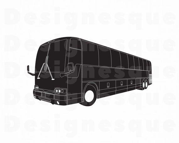 Coach Bus 3 SVG Coach Bus SVG Coach Bus Clipart Coach Bus | Etsy