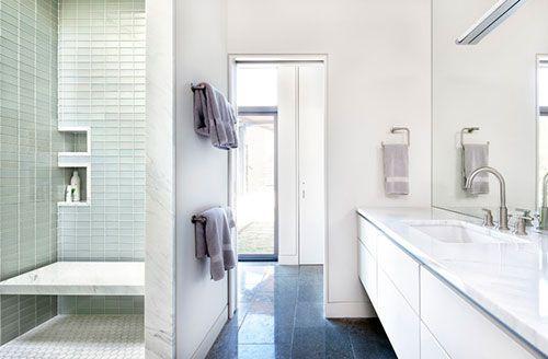 Moderne badkamer ideeën interieur inrichting badkameridee