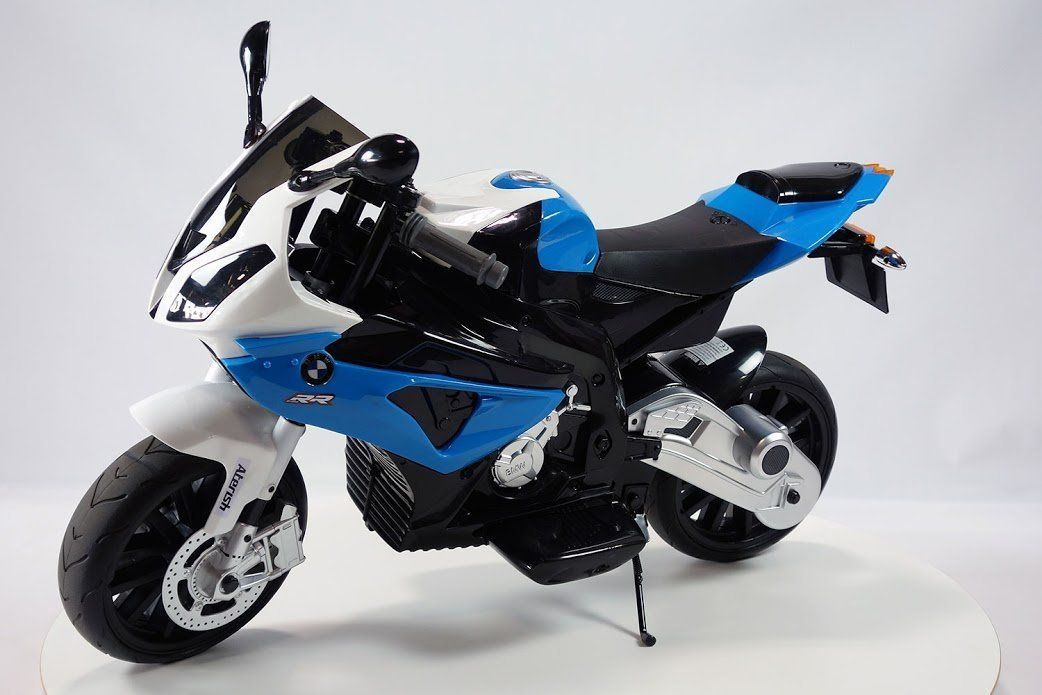 new ride on toy licensed bmw motorcycle 12v battery 2 motors