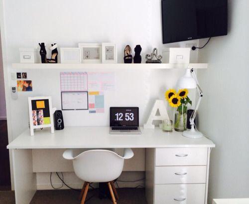 Desk Organisation Tumblr Google Search