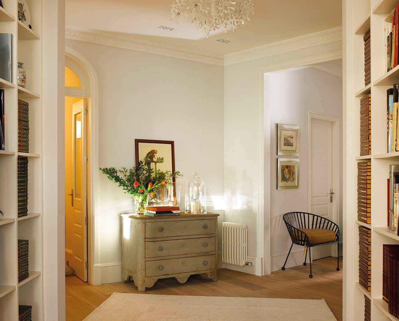 Un Piso Decorado Con Mucho Estilo Elmueble Com Casas Mi Casa  # Muebles Gimenez Recibidores