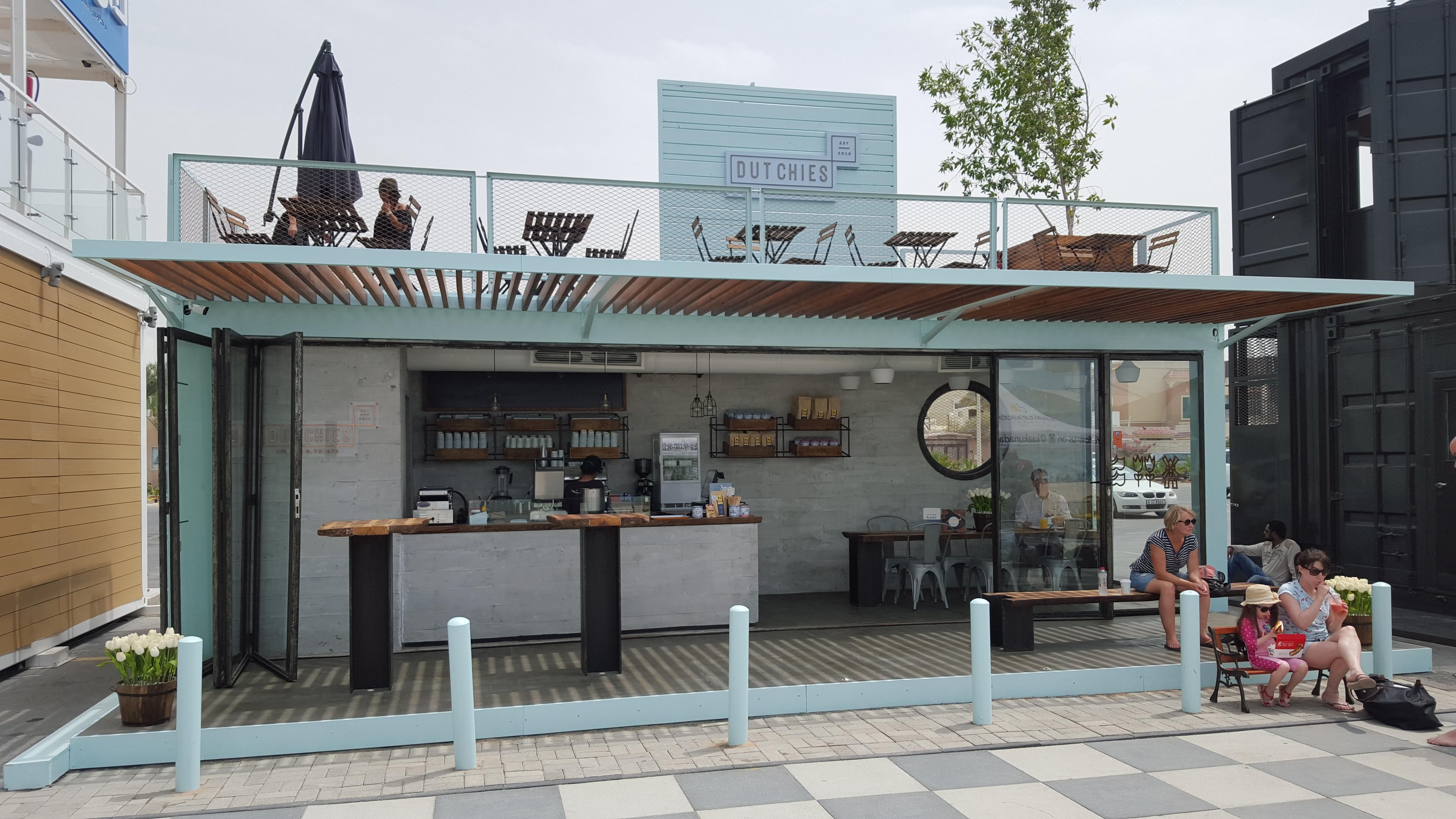 Modified Container House Coffee Shop / Take Away Restautant