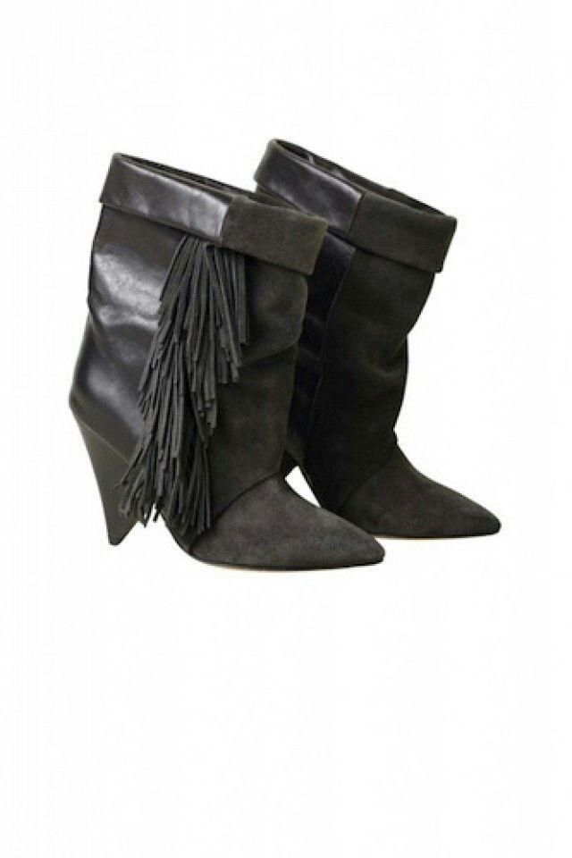 Refinery29 Isabel Marant H M Isabel Marant Boots H M Boots Leather Fringe Boots