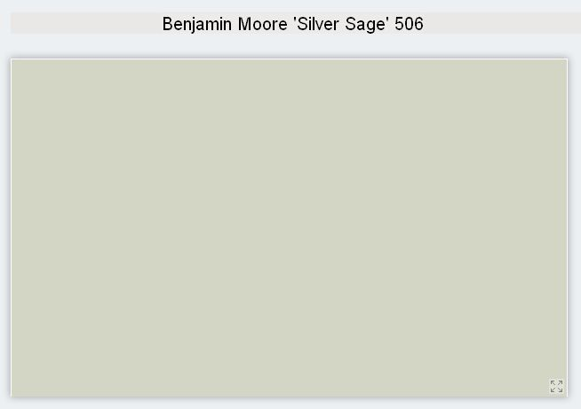Benjamin Moore Interior Paint Color Silver Sage 506 Silvery Green Interior Paint Colors Silver Sage Paint Sage Paint Color