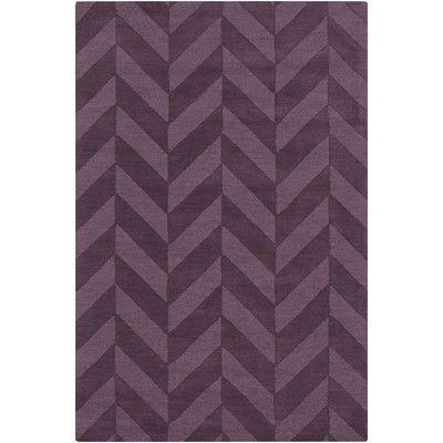 artistic weavers central park purple chevron carrie area rug u0026 reviews wayfair