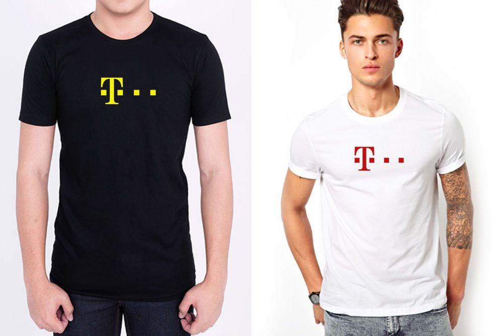 752267db8 T MOBILE TELEKOM LOGO men black white t-shirt personalized 100% cotton  #fashion #clothing #shoes #accessories #mensclothing #shirts (ebay link)