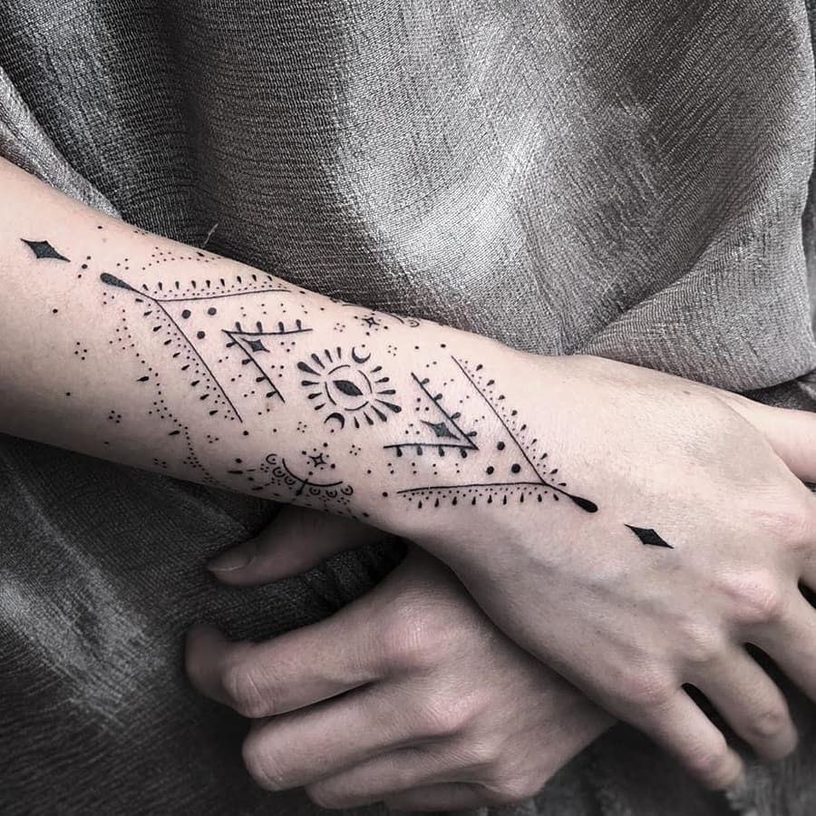 ⭕Astral sleeve  @blum.ttt  #tattoo #tattooideas #tattooed #tattooart #tattooartist #tattoodesign #dövme #dövmemodelleri